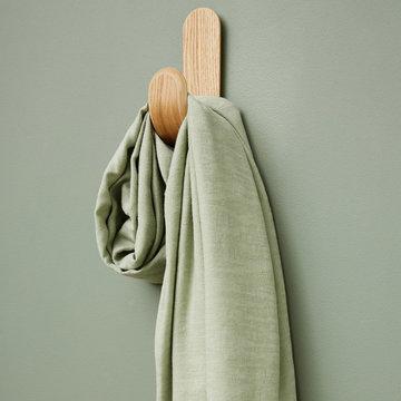 Tencellinnen - Hoya jacquard soft mint