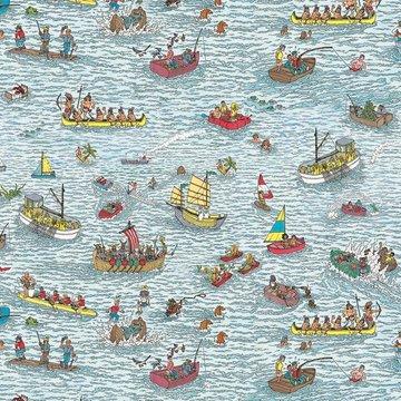 Jersey - Finding wally op zee