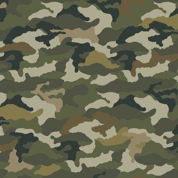 Jersey - Camouflage groen