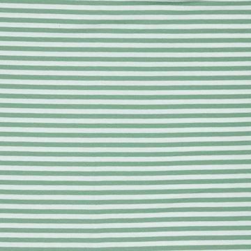 Jersey - Strepen groen-wit 7mm