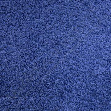 Badstof - Cyaanblauw