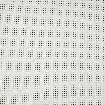 Broderie - Wit geperforeerd vierkantje