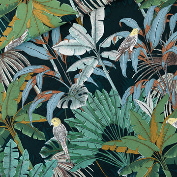 Canvas twill - Playtime Jungle