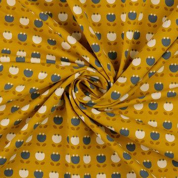 Tricot - Tulpjes op warm geel