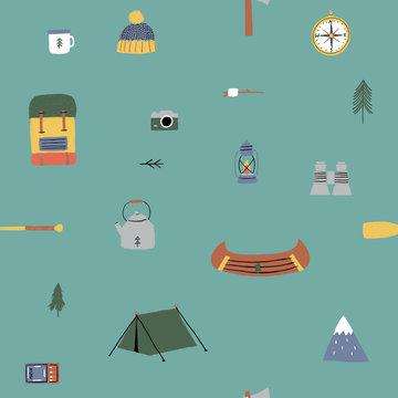Katoen - Campinglive op groen