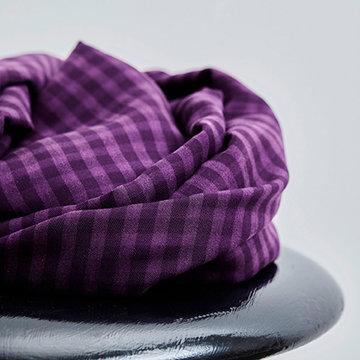 Tencel - Vichy purple night