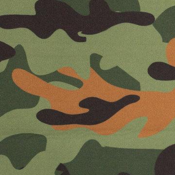 Softshell - Army groen met bruin