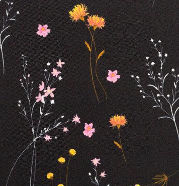 Softshell - Fragiele bloemenstengel in de nacht