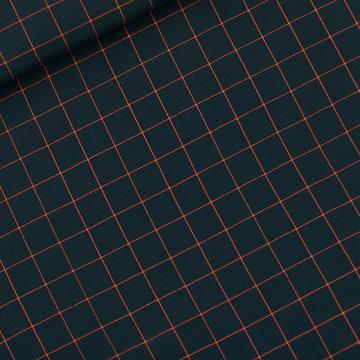 Viscose rayon - Playtime Thin grid S