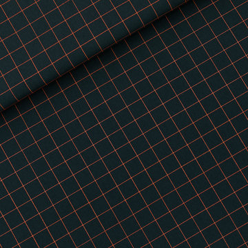 Canvas twill - Playtime Thin grid S