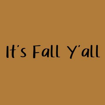 Applicatie flex - It's fall y'all