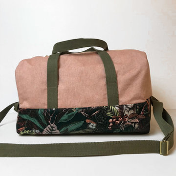 Stoffenpakket - Flo vierkante tas autumn joy (groot)