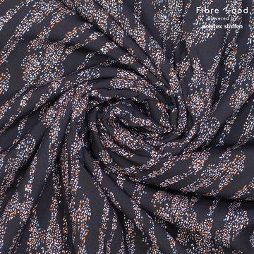 Viscose fibremood - Zwart met dotjes Doris