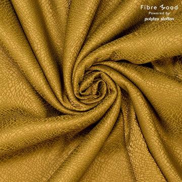 Viscose fibremood - Jaquard olijfgroen tilda