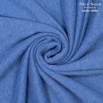 Gebreid fibremood - Asterblauw clemence