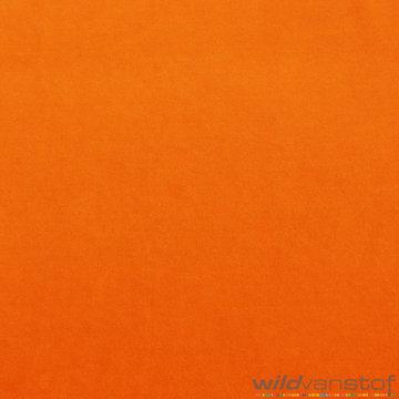 Coupon 50 / Nicky velours - Oranje 36