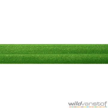 Stretch biaisband - grasgroen 021