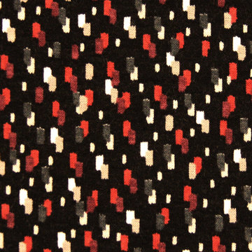 Fijne blokjes rood zwart