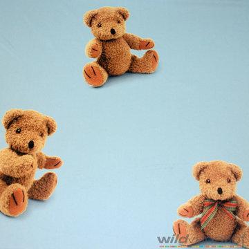 Verduistering beren op blauw