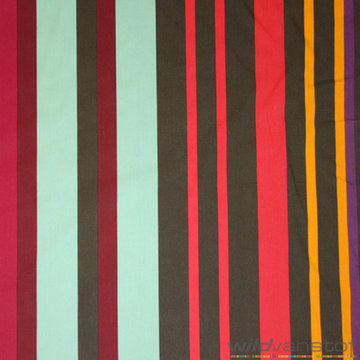 Canvas - Brede kleurrijke strepen