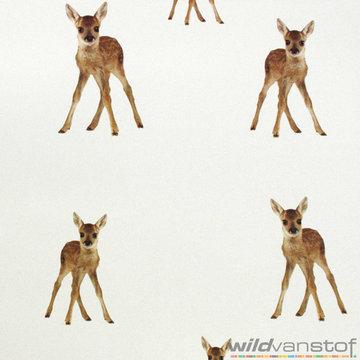 Canvas - Grote bambi op ecru