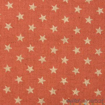 Canvas - Glitter sterren op donkerroze