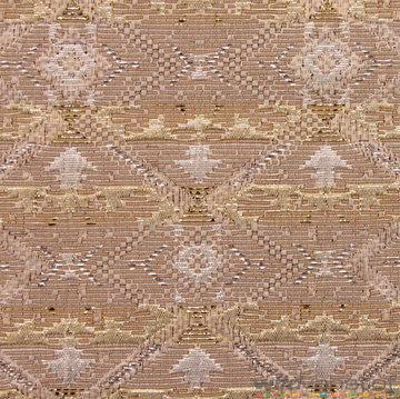 Coupon 190 / Jacquard inca's goud-zilver