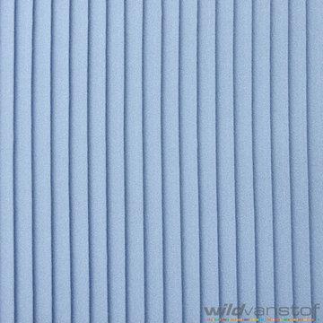 Plissé 10mm - Jeansblauw