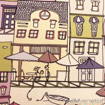 Canvas - Grote huizen