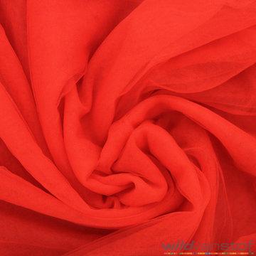 Mesh tule - rood