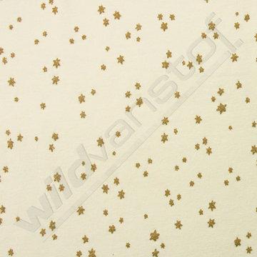 Gouden sterren op lichtgroen