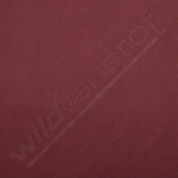Daim stretch - Donkerbordeaux
