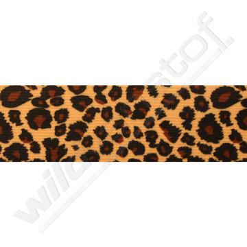Elastiek met luipaardprint