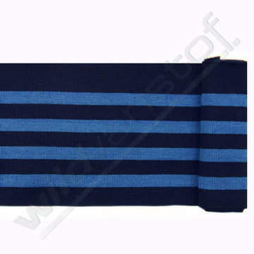 Boord strepen - Blauw en marine
