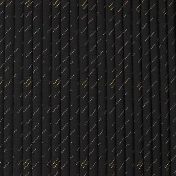 Plissé 10mm - Bollenlijntjes blauw-goud
