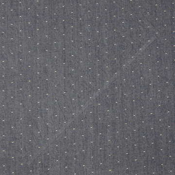 Jeans met stip blauw 3