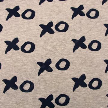Jersey XO (UV-licht print)
