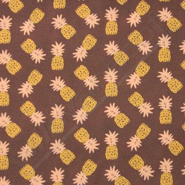 Viscose ananassen op bruin