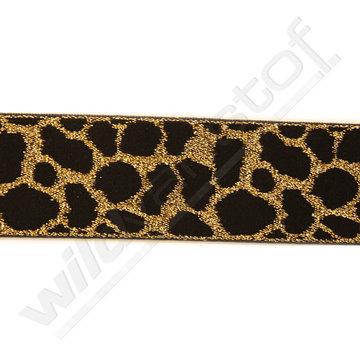 Elastiek luipaard goud