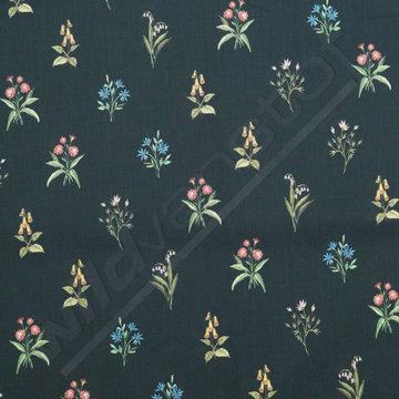 Bloemen op zwart - Bruna
