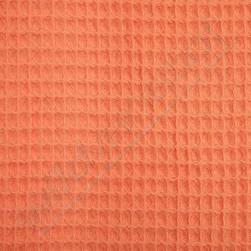 Gewafeld katoen - Peach 10