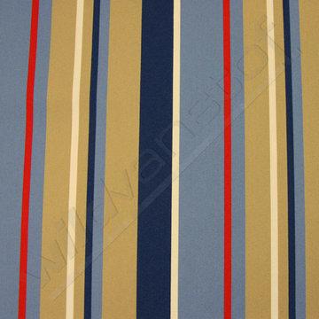 Strepen blauw-beige-rood-wit