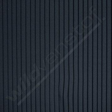 Plissé 10mm - Marineblauw 2