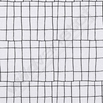 Fantasie rechthoeken zwart-wit