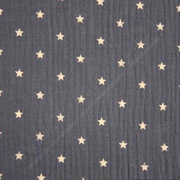 Tetra sterren op blauw
