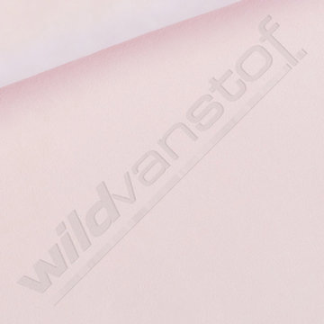 French terry - Playtime Veiled Pink