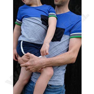 Stoffenpakket: Isaac t-shirt jongens