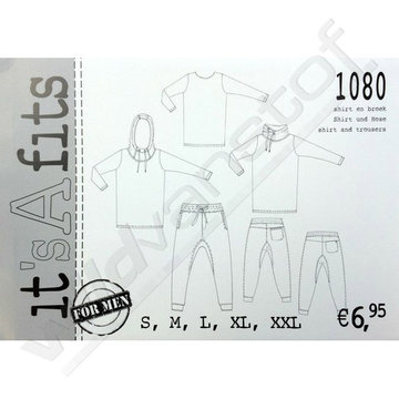 It's a fit - Shirt en broek mannen 1080