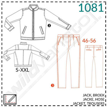 It's a fit - Jack en broek mannen 1081