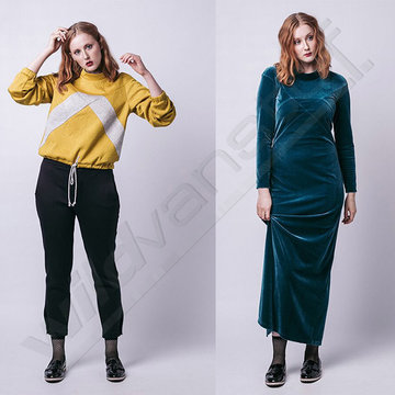 Named - Gemma (sweater & maxi dress)